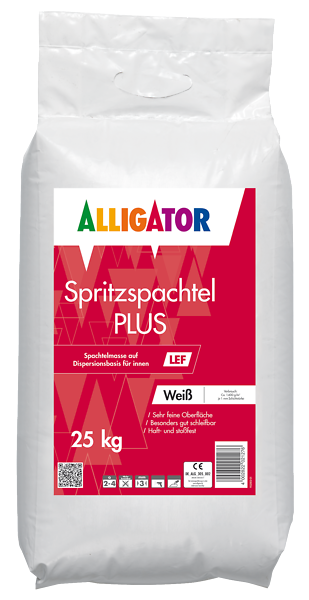 Spritzspachtel PLUS LEF